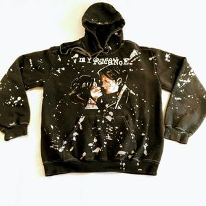 My Chemical Romance Three Cheers Splatter Hoodie
